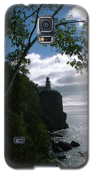 Galaxy S5 Case featuring the photograph Split Rock II by Bonfire Photography