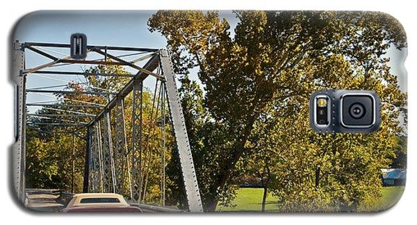 Galaxy S5 Case featuring the photograph Sports Car On A Bridge by Susan Leggett