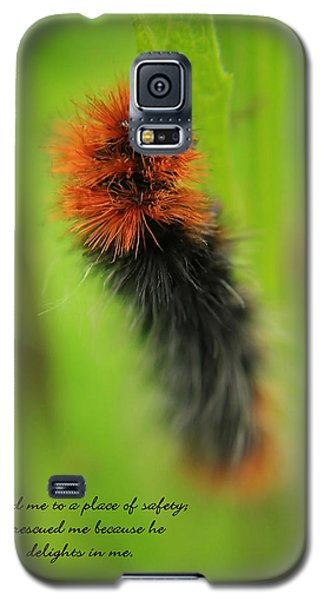 Spring Caterpillar Galaxy S5 Case