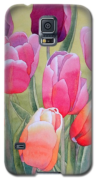 Galaxy S5 Case featuring the painting Spring by Laurel Best