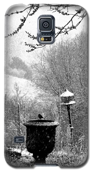 Galaxy S5 Case featuring the photograph Spring Snowstorm 2012 by Susanne Still