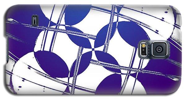 Square Circles Galaxy S5 Case