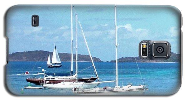 Galaxy S5 Case featuring the photograph St-thomas Virgin Islands Trio by Danielle  Parent