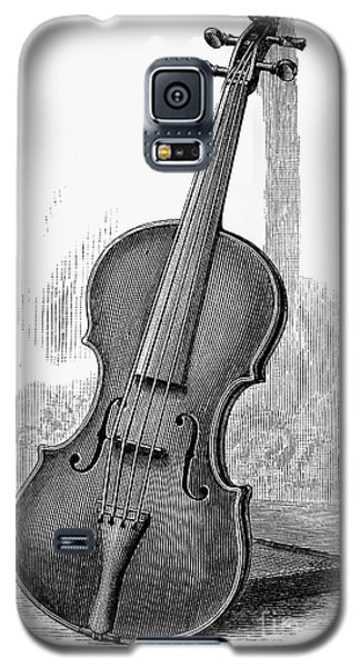 Violin Galaxy S5 Case - Stainer Violin by Granger