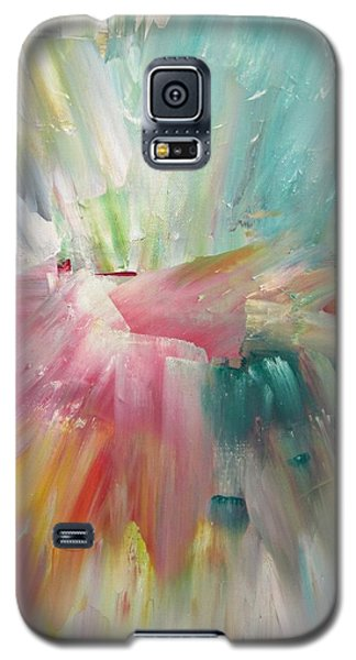 Galaxy S5 Case featuring the painting Star by Kathy Sheeran