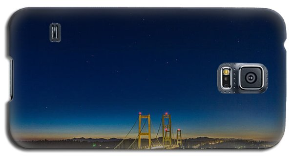 Galaxy S5 Case featuring the photograph Star Night Over The Narrows by Ken Stanback