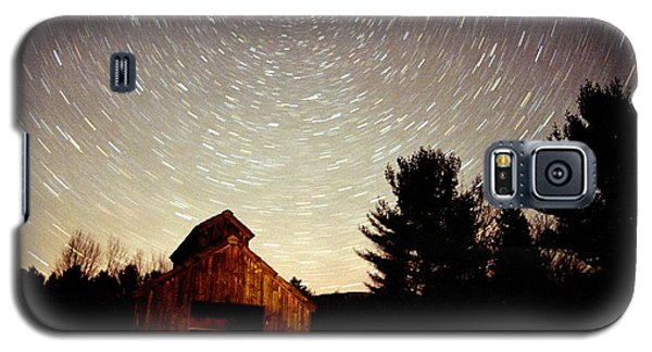Star Trails Over Sugar Shack Galaxy S5 Case