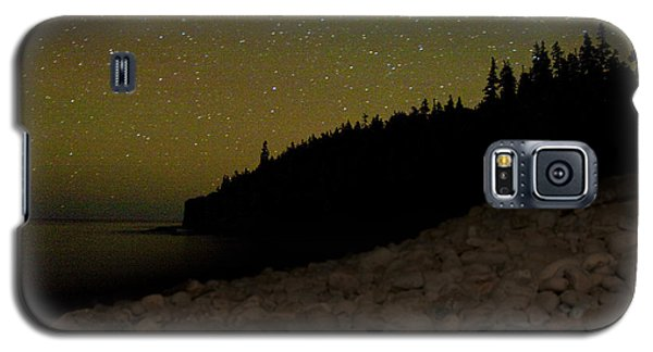 Stars Over Otter Cliffs Galaxy S5 Case by Brent L Ander