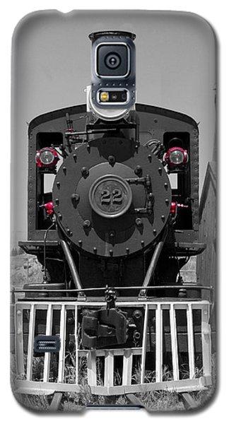 Galaxy S5 Case featuring the photograph Steam Engine Train by Deniece Platt