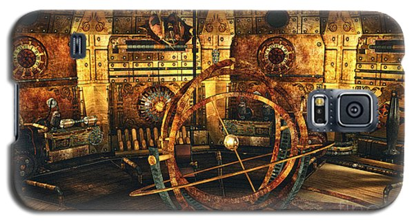 Steampunk Time Lab Galaxy S5 Case