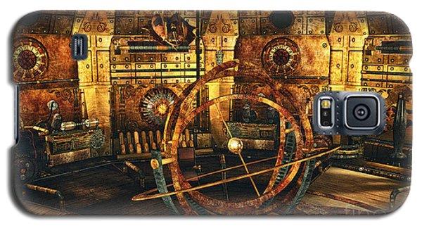 Steampunk Time Lab Galaxy S5 Case by Jutta Maria Pusl