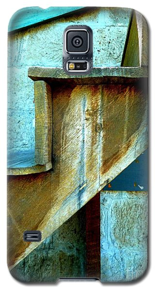 Galaxy S5 Case featuring the photograph Stepping Up To The Blues by Newel Hunter