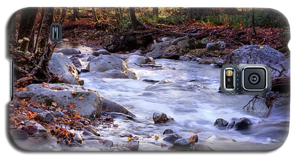 Galaxy S5 Case featuring the photograph Stickney Brook by Tom Singleton