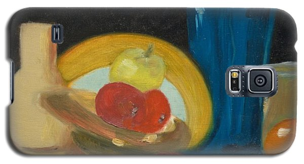 Galaxy S5 Case featuring the painting Still Life Of Fruit by Bernadette Krupa