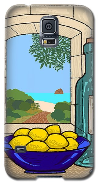 Still Life With Lemons Galaxy S5 Case