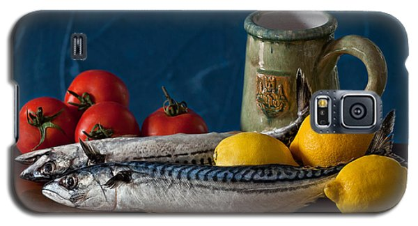 Still Life With Mackerels Lemons And Tomatoes Galaxy S5 Case