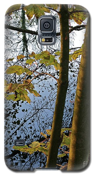 Still Waters In The Fall Galaxy S5 Case by Andy Prendy