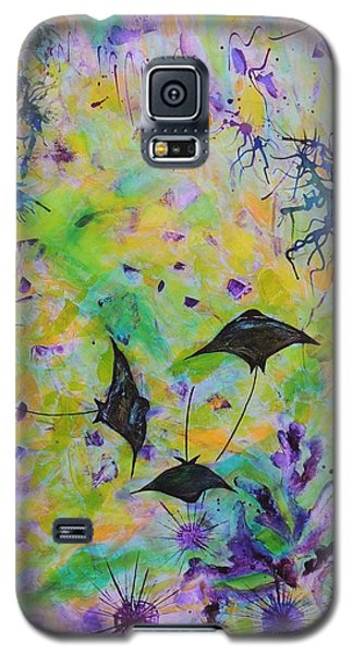 Stingrays And Coral Galaxy S5 Case by Lyn Olsen