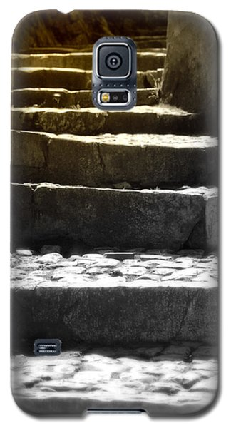 Galaxy S5 Case featuring the photograph Stone Steps by Emanuel Tanjala