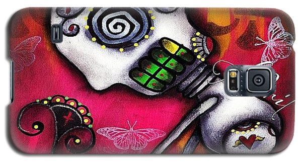 Stop And Smell The Flowers - Art By Galaxy S5 Case