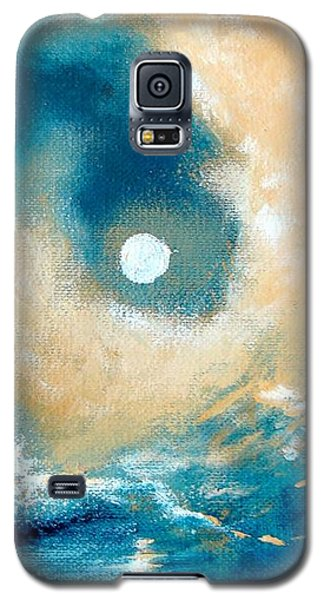 Galaxy S5 Case featuring the painting Storm by Ana Maria Edulescu