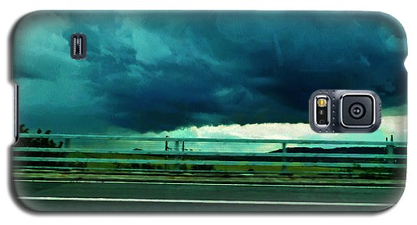 Galaxy S5 Case featuring the digital art Storm Approaching  by Steve Taylor