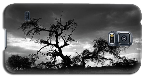 Galaxy S5 Case featuring the photograph Storm Clouds. by Arik Baltinester
