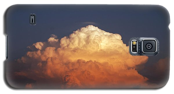 Galaxy S5 Case featuring the photograph Storm Clouds At Sunset by Mark Dodd