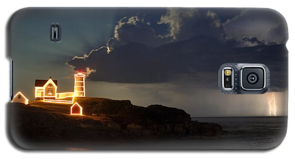Storm Energizes The Lightning And The Lighthouse Galaxy S5 Case
