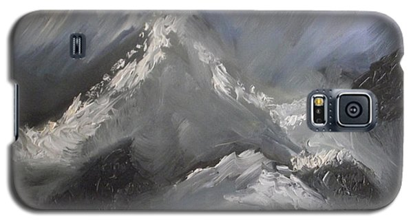 Galaxy S5 Case featuring the painting Storm Gathering by Martin Blakeley