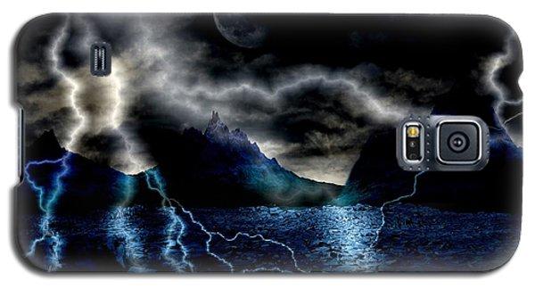 Storm In The Blue Mountains Galaxy S5 Case by Angel Jesus De la Fuente