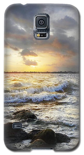 Storm Waves Galaxy S5 Case by Francesa Miller