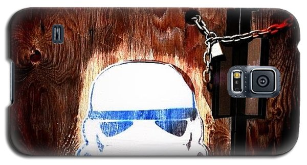 Nerd Galaxy S5 Case - Stormtrooper by Cassie OToole