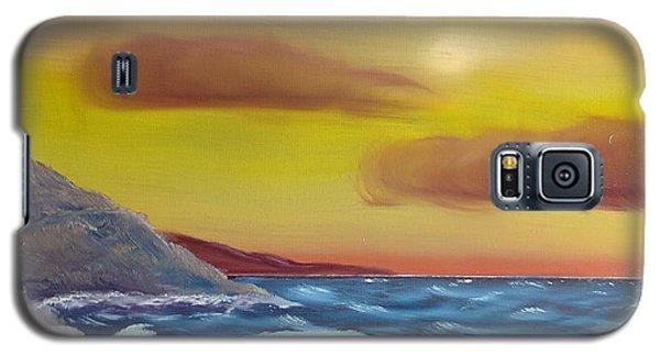 Stormy Beach Galaxy S5 Case