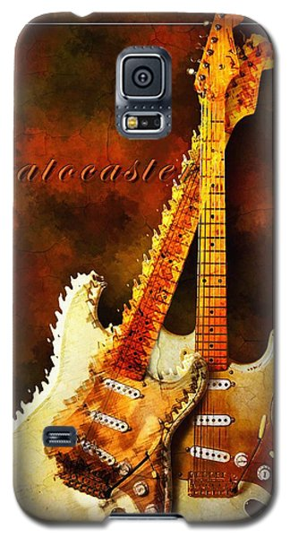 Galaxy S5 Case featuring the mixed media Stratocaster by Robert Smith