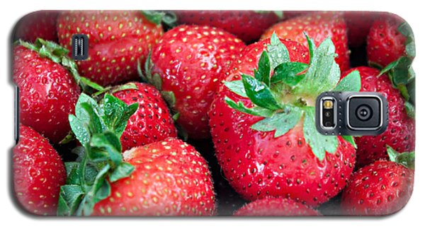 Galaxy S5 Case featuring the photograph Strawberry Delight by Sherry Hallemeier