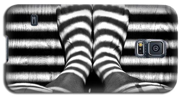 Stripe Socks? Galaxy S5 Case by David Pantuso