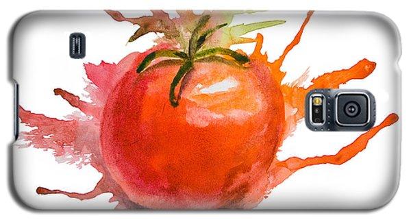 Stylized Illustration Of Tomato Galaxy S5 Case