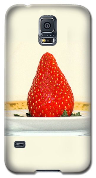 Succulent Strawberry Galaxy S5 Case by Margie Avellino
