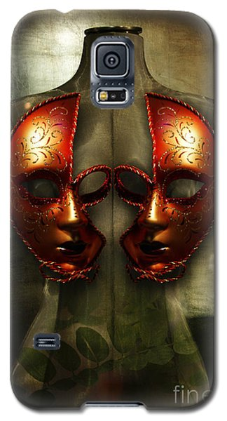 Galaxy S5 Case featuring the photograph Suckling The Silence  Viriditas by Rosa Cobos
