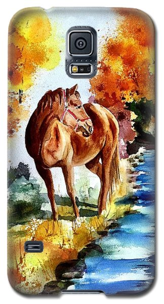 Galaxy S5 Case featuring the painting Sugar  by Sharon Mick