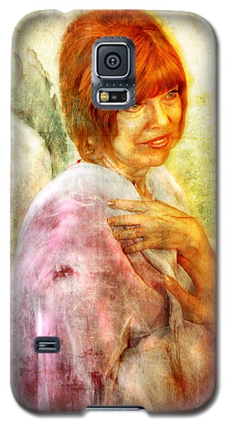 Sullivan. Angel Galaxy S5 Case by Nada Meeks