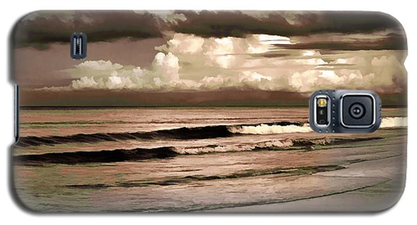 Galaxy S5 Case featuring the photograph Summer Afternoon At The Beach by Steven Sparks