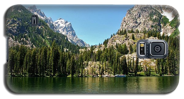 Summer Day At Jenny Lake Galaxy S5 Case by Dany Lison