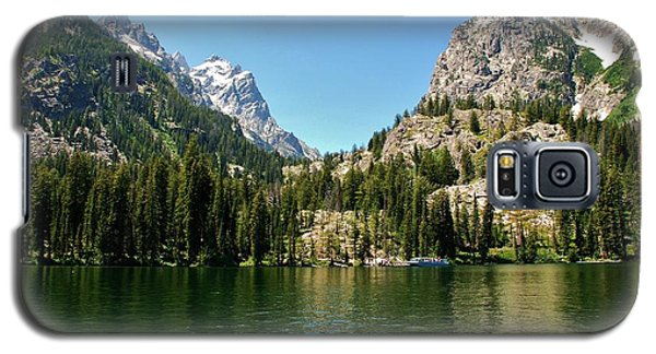 Summer Day At Jenny Lake Galaxy S5 Case