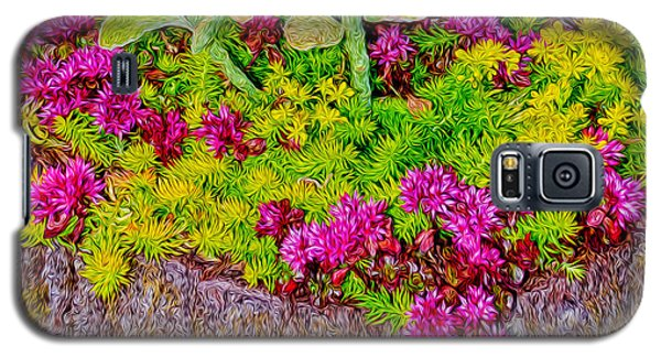 Galaxy S5 Case featuring the photograph Summer Delight by Ken Stanback