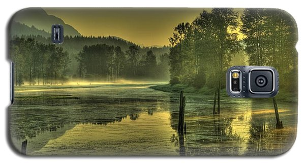 Summer Morning Galaxy S5 Case by Rod Wiens