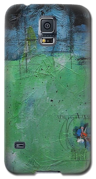 Galaxy S5 Case featuring the painting Summer by Nicole Nadeau