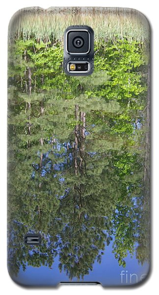 Galaxy S5 Case featuring the photograph Summer Reflection by Tannis  Baldwin