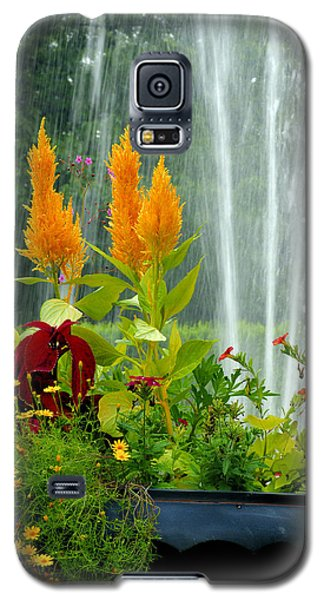 Galaxy S5 Case featuring the photograph Summer Spray by Michelle Joseph-Long